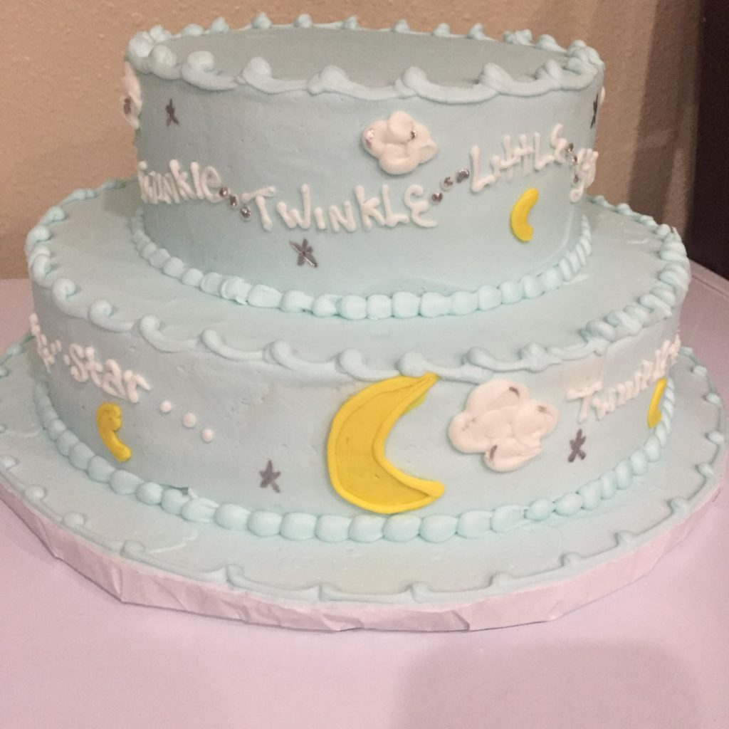 Baby Arrival Cake